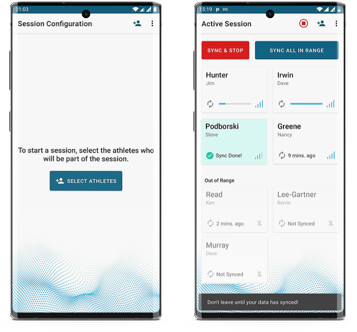 Protern Sync Android App